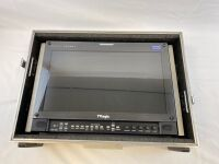 "TVLogic LVM-173W 17"" Monitor with case"