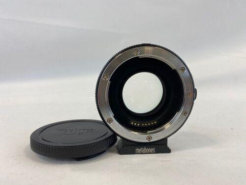 Canon EF Metabones EF- E Mount T Speed Booster Ultra Lens