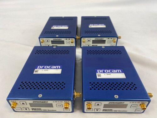 Zaxcom QRX235 Dual Radio Mic RX 4-Channel ENG Receiver (Qty 4)