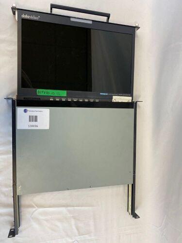 Datavideo LCD Monitor 1U Foldable Rackmount Tray Unit