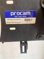 "Unicol Monitor Trolley for 42-72"""